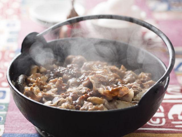 豚肉の味噌すき煮