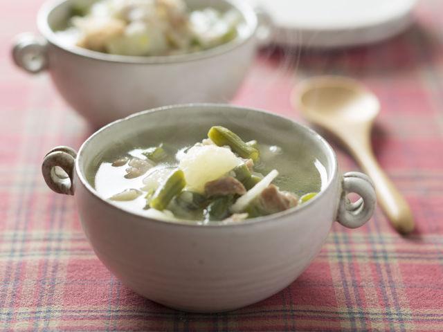 いんげんスープ