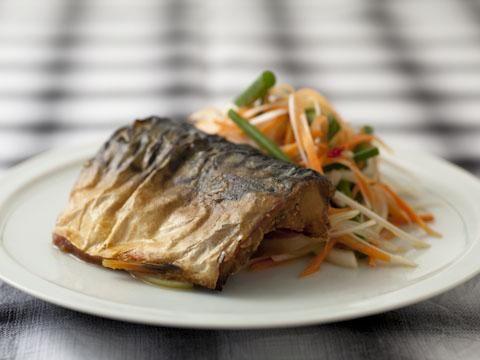 塩サバの野菜南蛮