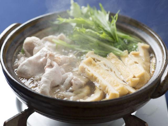 豚と水菜の鍋
