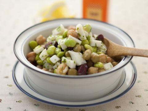 豆々サラダ