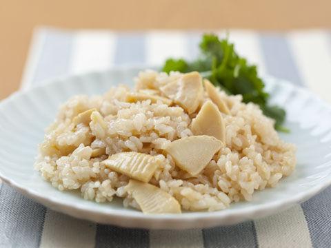 竹の子油飯