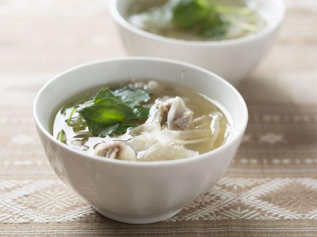 大根とごぼうのスープ