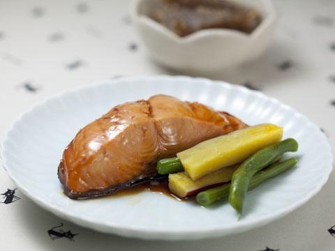 鮭の煮つけ
