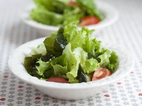 わかめと菜っ葉のサラダ
