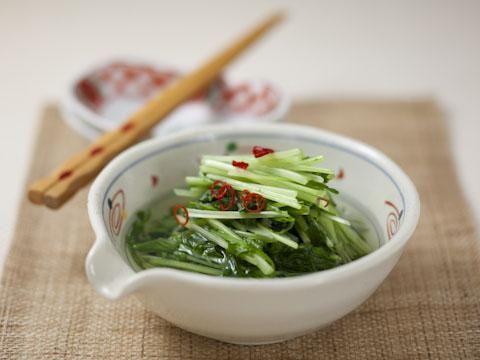 水菜の水キムチ