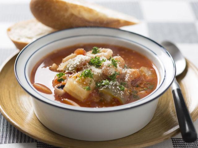 魚介トマトスープ