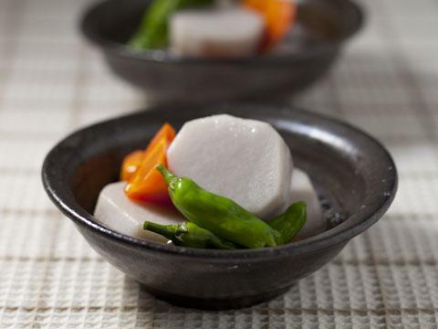 里芋と人参の煮物