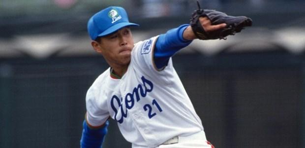 渡辺智男  投手