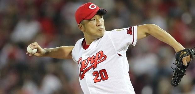 永川勝浩  投手
