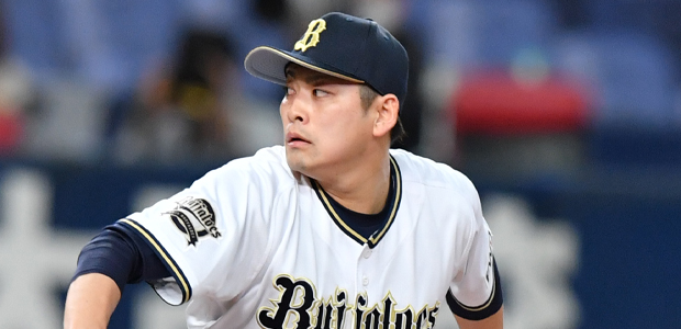海田智行 オリックス・バファローズ 投手