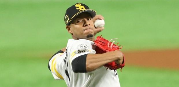 アリエル・ミランダ 福岡ソフトバンクホークス 投手