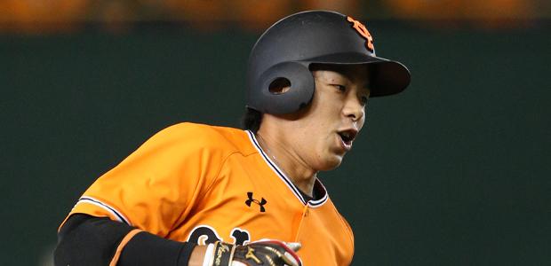 橋本到  外野手