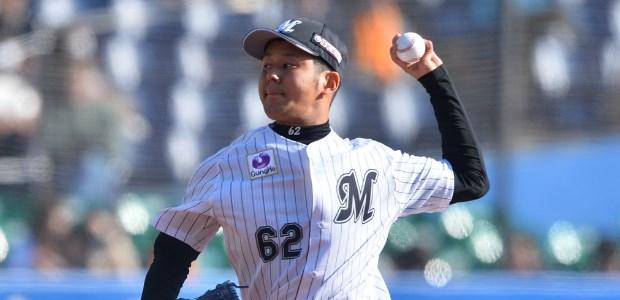永野将司 千葉ロッテマリーンズ 投手