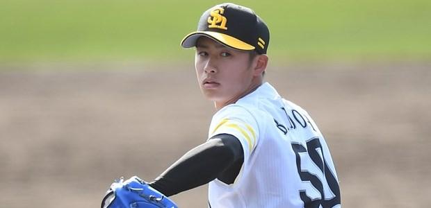板東湧梧 福岡ソフトバンクホークス 投手