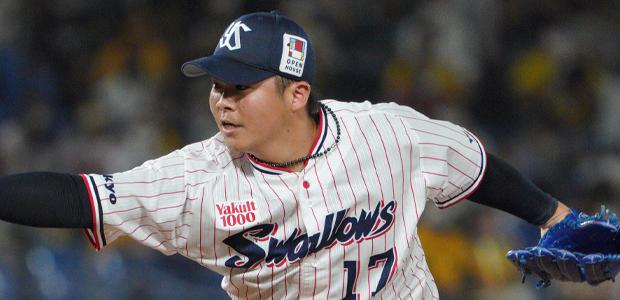 清水昇 東京ヤクルトスワローズ 投手