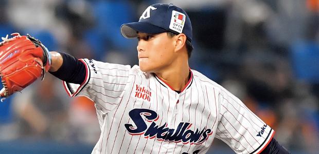 高橋奎二 東京ヤクルトスワローズ 投手