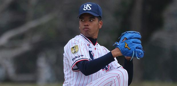 日隈ジュリアス 東京ヤクルトスワローズ 投手