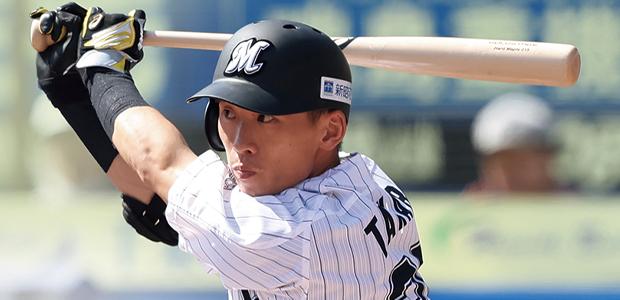 高部瑛斗 千葉ロッテマリーンズ 外野手