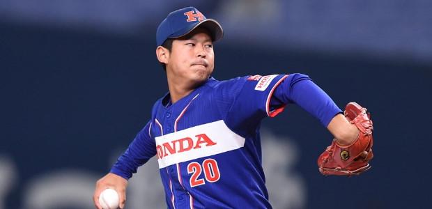 小野大夏 Honda 投手