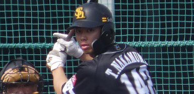 中村宜聖 福岡ソフトバンクホークス 外野手