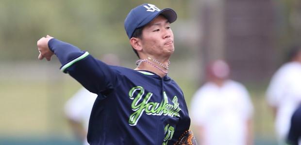 市川悠太 東京ヤクルトスワローズ 投手