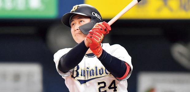 紅林弘太郎 オリックス・バファローズ 内野手
